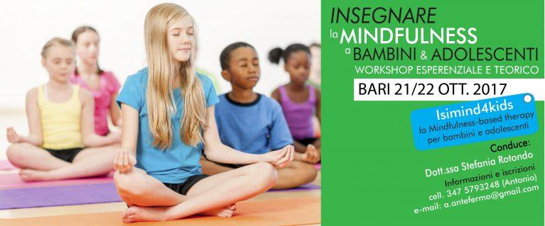 Mindfulness per bambini a bari