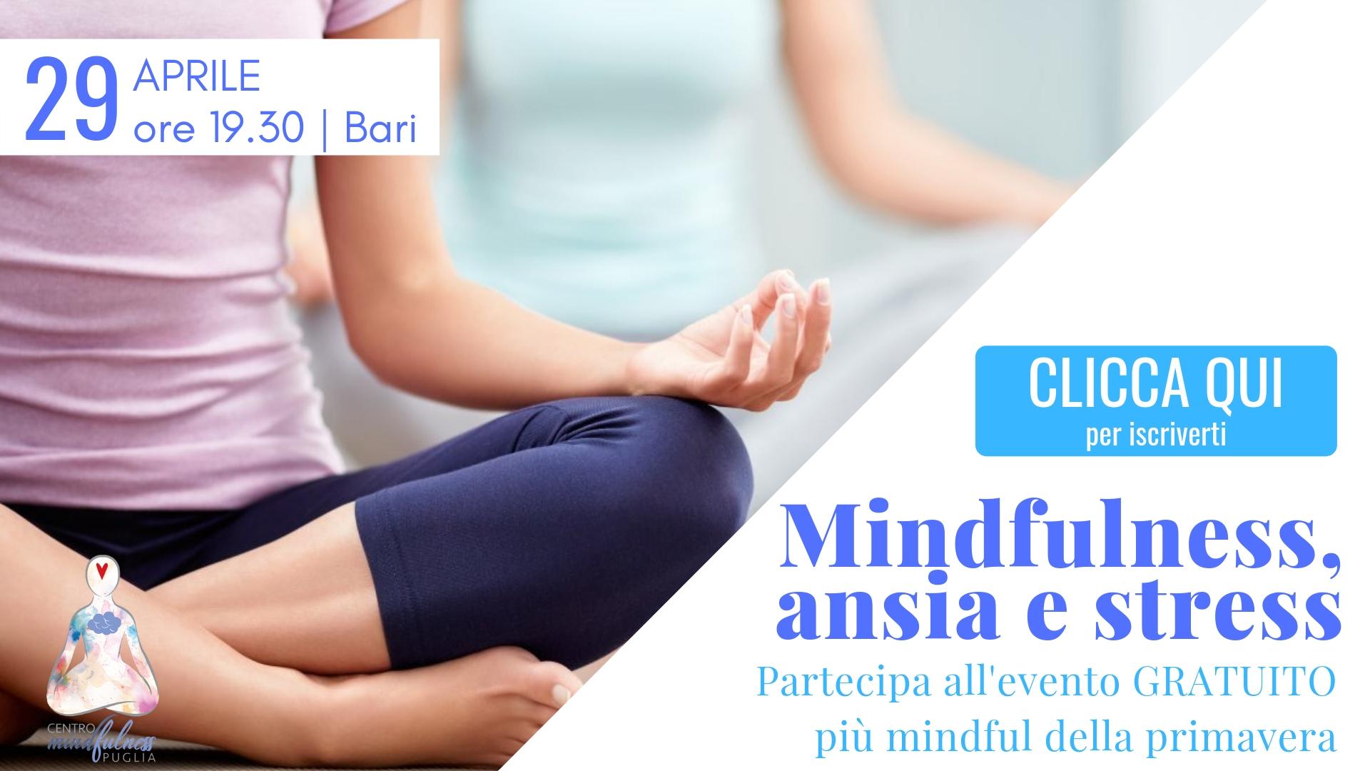 mindfulness ansia e stress